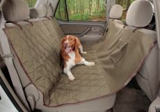 Deluxe Hammock Car Seat Cover for Dogs by Solvit
