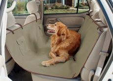 Waterproof Sta-Put™ Hammock Car Seat Cover for Dogs