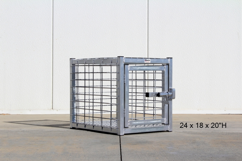 Heavy Duty Dog Crate Strongest Indestructible Steel Dog Cage