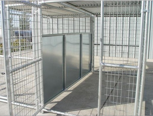 Heavy Duty 2 Run Dog Kennel 5 X10 X6 Fight Guard And Roof