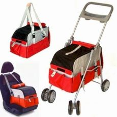 Pet Stroller 3 in 1 Convertible and Convenient