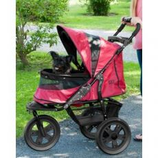 NO-ZIP Pet Stroller Model AT3 A New Go Anywhere Design