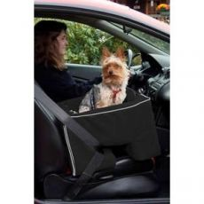 Large Dog Booster Car Seat Micro Suede Cover and Pillow