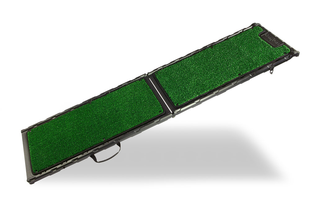 Dog Ramp For Truck >> Extra Wide Pet Ramp w/Poly Grass Surface by Gen7Pets
