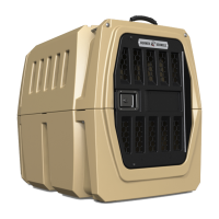 Heavy Duty Dog Crate G1 Large by Gunner Kennels