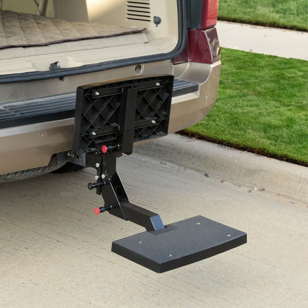 Adjustable Hitch Receiver >> Innovative HitchSTEP Makes Dog Loading & Unloading Easy