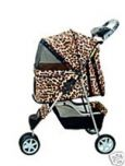Dog Stroller 3 Wheel Special Rain Cover Included