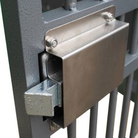 Lock & Deadbolt Cover for Strong Zinger Dog Crates
