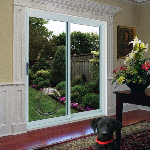 Pet Door For Double Pane Glass Dual Glaze By Pet Tek