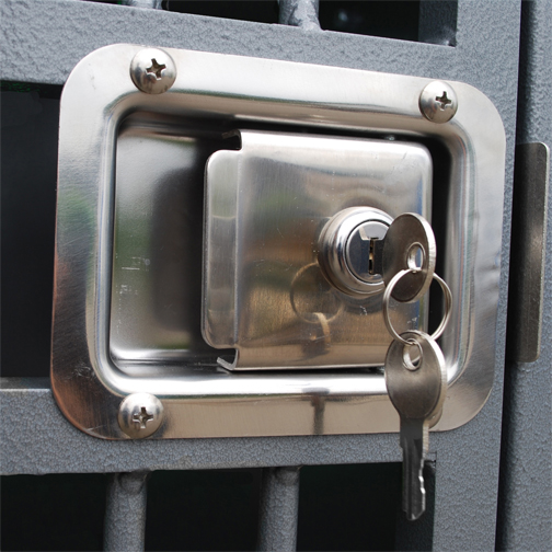 Paddle Latch for Zinger Dog Crates with Key