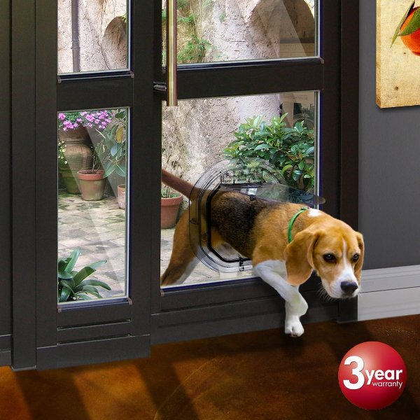 Pet Door For Glass Doors Or Windows By Pet Tek