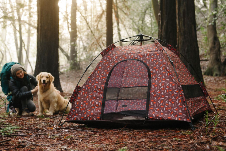 & Designer Dog Tent offers UV Protection Portability and More