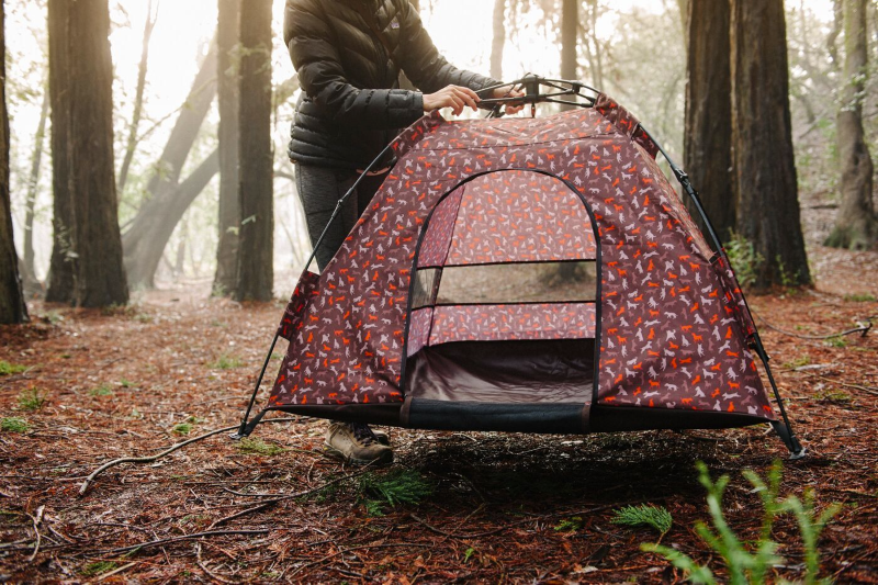 Designer Dog Tent offers UV Protection Portability and More & Dog Tent offers UV Protection Portability and More