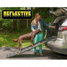 Economical Travel Lite Bi-fold Reflective Pet Ramp by Pet Gear