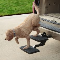 Innovative HitchSTEP Makes Dog Loading & Unloading Easy