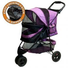 Special Edition Pet Stroller NO-ZIP Design by PetGear