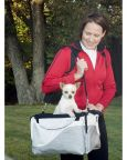Versatile Dog Carrier with Sun Shade for Your Bike from Solvit