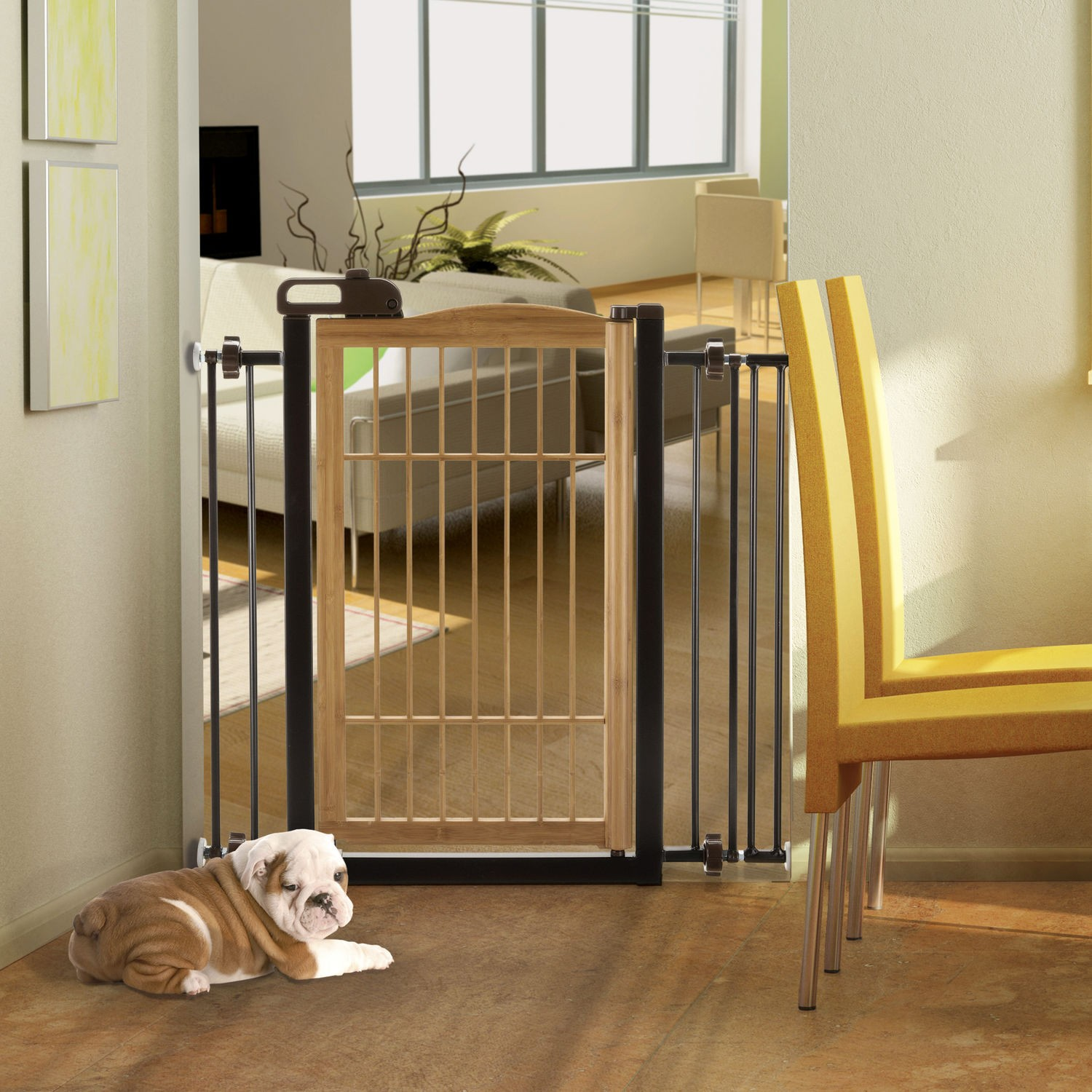 Tak 233 One Touch Pet Gate By Richell Tension Mount R94181