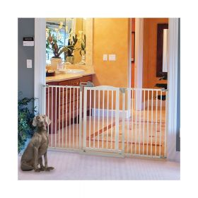 Tall and Wide One-Touch Pet Gate Pressure Mounted R94935