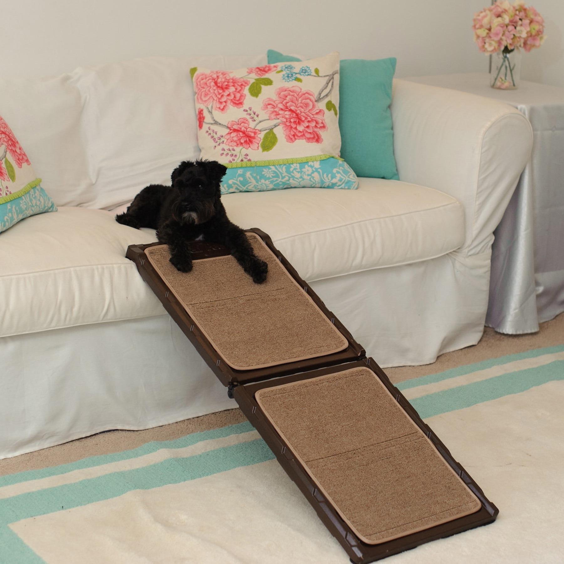 Indoor Carpet Mini Pet Ramp For Good Dog Health