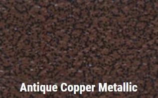 Antique Copper Metallic powdercoat