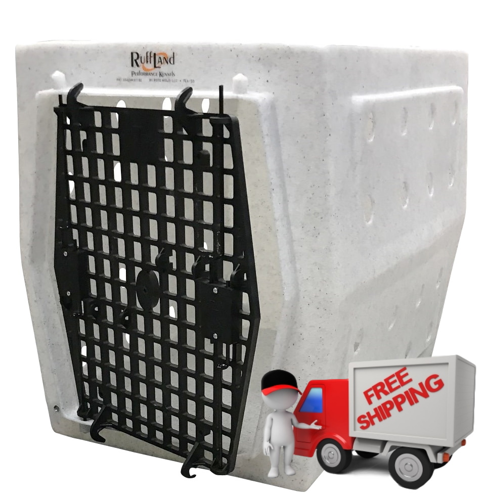 Free shipping on all Ruff Land Kennels from carrymydog.com