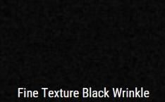 Black Wrinkle powdercoat