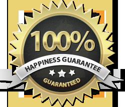 TuffComfort Happiness Guarantee