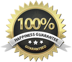 Happiness Guarantee Logo Image