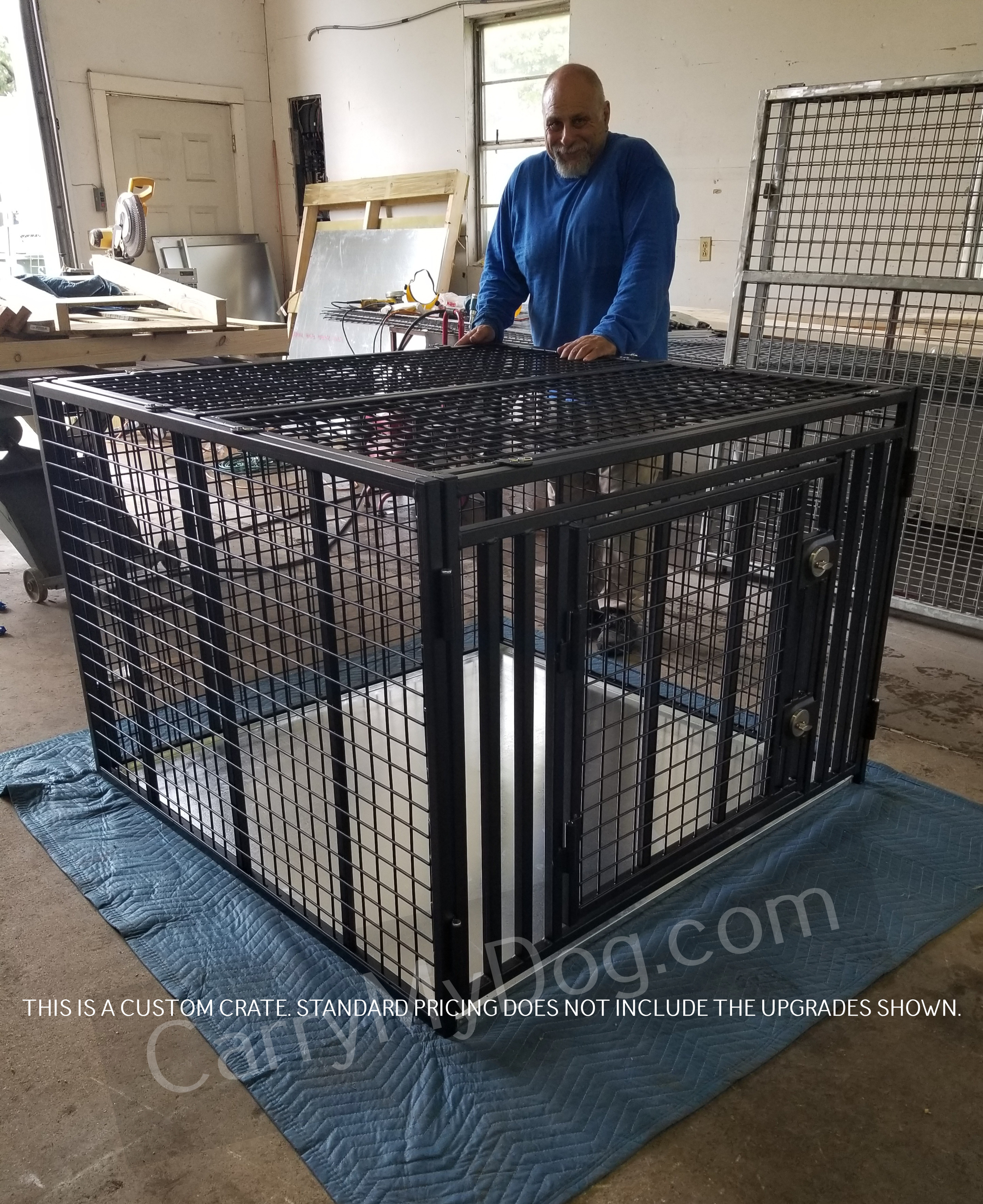 Giant Large Heavy Duty Dog crate by Xtreme dog crates