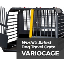 Variocage Crash-Tested Car Dog Cages