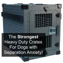 Shop for the strongest heavy duty dog crates available
