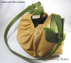 Dog Sling Carrier Model 1010 all Leather Plus Design Options (SELECT SLING SIZE: SMALL)