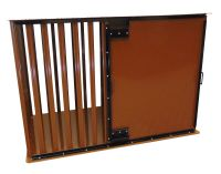 "STRONGER HEAVY DUTY DOG CRATE FOR SEPARATION ANXIETY DOGS (SIZE SELECTION (Internal Dimensions): X-SMALL SIDE ENTRY 24 X 15 X 14""H)"