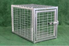 Heavy Duty Dog Crates Escape Proof Standard Sizes Steel (INDESTRUCTIBLE HEAVY DUTY CRATE SIZES: 36L X 23W X 26H)