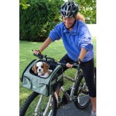 "Versatile Dog Bike Carriers for Hours of Fun with Your Dog (SELECT BIKE CARRIER SIZE: SMALL  14""L x 10""W x 9""H)"