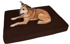 "Big Barker Orthopedic Dog Beds - Large Sizes - 10 Yr Warranty (SELECT BED STYLE/SIZE: SLEEK/LARGE    48"" x 30"" x 7"")"