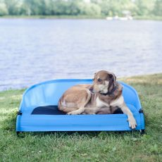 The Cool-Air Dog Cot An Outside Dog Bed to Use Anywhere (SELECT COT SIZE: LARGE)
