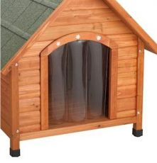 Door Flap Premium Plus A Frame Dog Houses (Select Door Flap Size: Small)