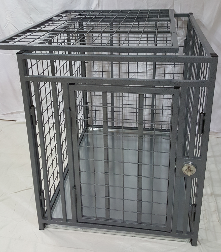 indestructible dog crate heavy duty crate collapsible indestructible steel 29348