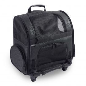 The Roller Pet Carrier from Gen7Pets is a 3 in 1 Pet Carrier (SELECT ROLLER CARRIER SIZE: MEDIUM)