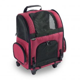 The Roller Pet Carrier from Gen7Pets is a 3 in 1 Pet Carrier (SELECT ROLLER CARRIER SIZE: LARGE)