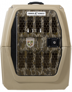Gunner Kennels Heavy Duty Dog Crate - G1 Large (SELECT GUNNER KENNELS G1 LARGE: GUNNER G1 LARGE MOSSY OAK® GAMEKEEPERS™ Edition)
