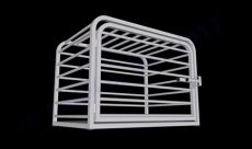 "Heavy Duty Dog Crate Steel Construction (SELECT HD CRATE SIZE: EUROPEAN STYLE 29""D x 41""W x 31""H)"