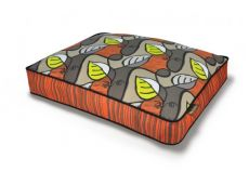 "Luxury Rectangular Designer Dog Beds The Original Collection (CHOOSE DESIGNER BED SIZE: SMALL  28"" x 20"" x 4"")"
