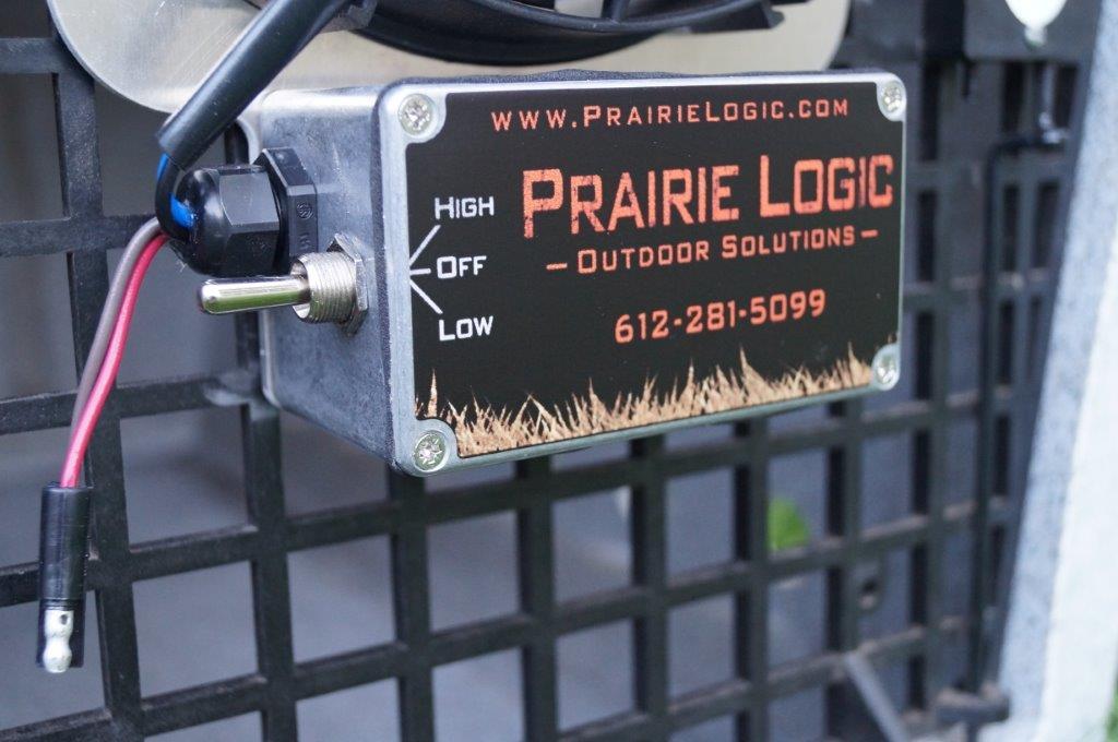 Dog Crate Fans : Best heavy duty dog crate fans by prairie logic