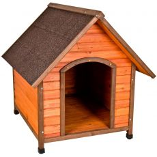 "Premium Plus A-Frame Outside Dog House 4 Sizes (Select-A-Size: Small: 28""W x 28.75""D x 29.75""H)"