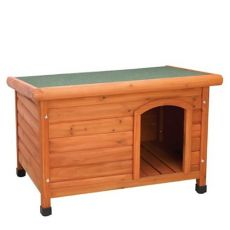 Premium Plus Dog House Tapered Roof - Wood - 3 Sizes (Premium Plus Size: Small)