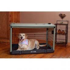 "The Other Door Steel Dog Crates -The High Tech Solution (SELECT ""THE OTHER DOOR"" CRATE SIZE: SMALL  27""L x 18.25""W x 21.75""H)"
