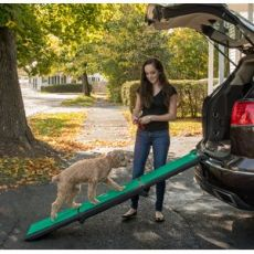 Pet Ramps with SupertraX Super Grip Surface Pad (SELECT RAMP TYPE: Tri-Fold)